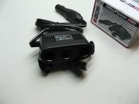 Разветвитель прикуривателя Heyner 511300 3 гнезда + USB (удлинитель, тройник)
