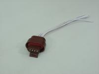 Разъем проводки с проводом Cargen AX-318 РМ1.5 (модуля зажигания старого образца 1.5 л, ВАЗ)