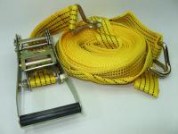 Стяжка крепежная груза 10м х 50мм (ремень стяжной, стяжка груза)