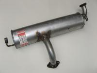 Глушитель ЗАЗ 1102, 1103 задняя часть Bosal 110308-1201009-11 (Таврия, Славута основной Бозал, оригинал 1102-1201009-10 Бозал)