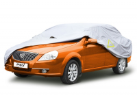 """Тент автомобильный PSV модель 16 """"L"""" 111143 с молнией размер 460-495x180x120 см"""