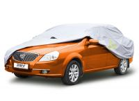 """Тент автомобильный PSV модель 16 """"XL"""" 111144 с молнией размер 500-535x180x120 см"""