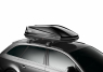 Бокс на крышу грузовой THULE Touring M 200 черный глянцевый 400л 175х82х45 (автобокс автомобильный, двустороннее открытие, 634201)