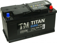 Аккумулятор ТITAN EURO Silver 110 А\ч обратная полярность
