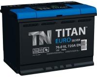 Аккумулятор TITAN EURO Silver 74 А\ч обратная полярность, низкий