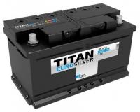 Аккумулятор TITAN EURO Silver 85 А\ч обратная полярность, низкий