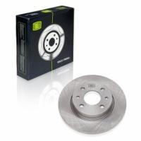 Диск тормозной передний ВАЗ 2108 Trialli DF115 комплект 2шт (диски тормозные 2109, ВАЗ)