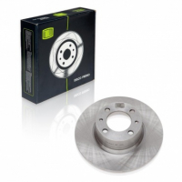 Диск тормозной передний 2101 Trialli DF125 комплект 2шт (диски тормозные 2101, ВАЗ)
