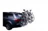 Крепление для перевозки трех велосипедов на задней двери THULE Clip-On S1 9103 (велокрепление на три велосипеда, Клип-Он Туле)