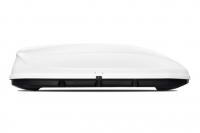 """Бокс-багажник на крышу Аэродинамический Белый """"Turino 1"""" PT Group 410 л 1750х790х450 одностороннее открывание (ПТ Групп Турино, багажник на крышу автомобиля, 00001704)"""