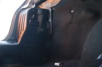 Внутренняя обшивка задних фонарей накладки на ковролин боковые в багажнике Renault Logan 2014- АртФорм комплект 2 шт (Рено Логан, яго)
