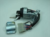 Замок зажигания ВАЗ 2110 ДААЗ 21100-3704005-30 (выключатель зажигания нового образца, усиленный, короткий ключ)