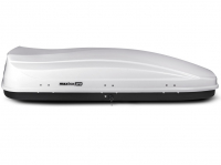 Автобокс на крышу MaxBox PRO 520 белый глянец 196х80х43 см (максбокс про, KP-45365)
