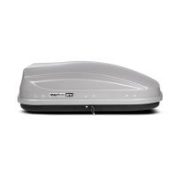 Автобокс на крышу MaxBox PRO 400 серый матовый 136х96х42 см (максбокс про, KP-32565)