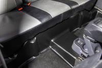 Накладка на ковролин заднего ряда Renault Duster 2011-2014, 2015- АртФорм комплект 2шт (Рено Дастер, яго)