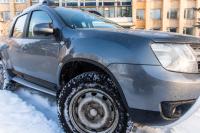 Защитные накладки на арки колес тонкие Renault Duster 2011-2014 АртФорм комплект 4 шт (Рено Дастер, яго)