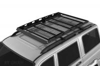 Багажник-корзина двухсекционная универсальная с основанием-решётка PT Group 1630х1110 под поперечины (платформа, ПТ Групп 10010301)