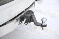 Фаркоп съемный квадрат Toyota Land Cruiser Prado 150 2009-2016, 2017+ PT Group 09021501 (тойота лэнд крузер прадо тсу прицепное устройство пт групп)