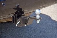 Фаркоп съемный квадрат Toyota Land Cruiser Prado 200 2009- PT Group 09041501 (тойота лэнд крузер прадо тсу прицепное устройство пт групп)