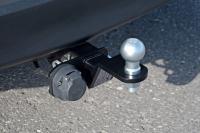 Фаркоп съемный квадрат Toyota Rav4 2013- PT Group 09061501 (тойота рав4 тсу прицепное устройство пт групп)