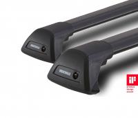 Комплект опор и поперечин для багажника Yakima FlushBar S7YB черный 2 шт длина 105 см (комплект дуг багажной системы якима флэшбар, 8050222)