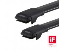 Комплект опор и поперечин багажника на высокие рейлинги Yakima RailBar S43YB черный 2 шт между рейлингами 86-96 см (рейлинг с просветом, якима рэйлбар 8050239)