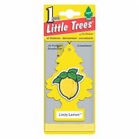 Ароматизатор Car-Freshner Lively Lemon (елочка, живой лимон) U1P-10313