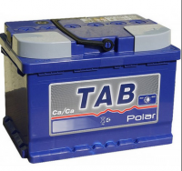 Аккумулятор TAB Polar 55 А\ч обратная полярность низкий