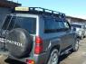 Корзина экспедиционная багажная Toyota Land Cruiser (70,76,80), Nissan Patrol (Y60, Y61) Евродеталь ED2-219N 2350х1300 мм (сталь, Ниссан патруль, Тойота Ланд Крузер багажник с сеткой)