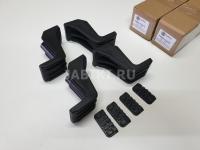 Комплект адаптеров для багажника Turtle Can Carry Air1 CLAMP3 Renault Duster Nissan Pathfiner R51 (переходники Рено Дастер, Ниссан Патфайендер тартл эйр1)