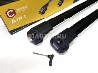 Багажник на крышу Skoda Yeti TURTLE Can Carry 32.TUR.01.09.A1.B черный комплект 2 шт (поперечины на рейлинги в штатные места шкода йети тартл эйр1)