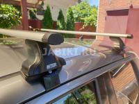 Багажник на крышу Inter AERO Renault Kaptur аэродинамические поперечины (рено каптюр интер аэро)