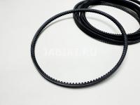 Ремень генератора клиновой ВАЗ 2107 БРТ 2107-1308020Р 744х10 мм зубчатый 1 шт (Lada 2101-2107, 2121 оригинал)