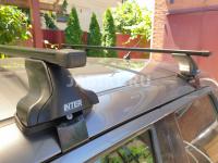 Багажник на крышу Inter Standart KIA Rio 2017- седан прмоугольные поперечины (киа рио интер сталь)