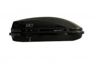 Бокс автомобильный багажный Евродеталь Магнум 300 черный глянец 1250х780х420 мм (автобокс Magnum ED5-059B)
