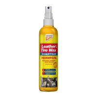 Полироль пластика кожи резины KANGAROO Leather&Tire wax Protectant (полироль защитный) 355036, 300мл