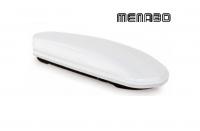 Автомобильный бокс MENABO Mania DUO 460 белый 198х79х37 см (автобокс багажный, менабо мания ME 354001)