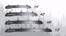 "Фейринг на крышу Yakima Windshields 34"" 86см (fairing обтекатель для багажника Якима Виндшилдз YA/8005016)"