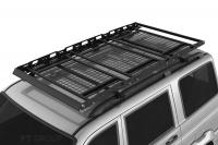 Багажник-корзина трехсекционная универсальная с основанием-решётка PT Group 2100х1110 под поперечины (платформа, ПТ Групп 10010302)