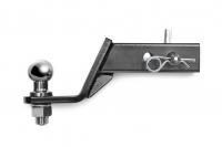 Кронштейн фаркопа в сборе универсальный усиленный с занижением 90 мм PT Group TOW990101 (под квадрат с шаром и пальцем пт групп)