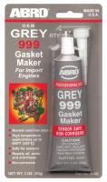Герметик прокладок 999 Grey ABRO 9-AB 85гр серый