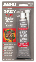 Герметик прокладок 999 Grey ABRO 9-AB-42-R 42гр серый