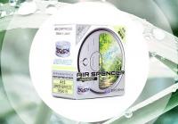 Ароматизатор меловый EIKOSHA Air Spencer Green Breeze А15 (зеленый бриз), запасной элемент