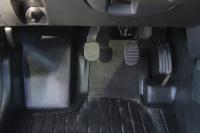 Накладка на ковролин пола передние Renault Duster 2011- АртФорм комплект 2 шт (Рено Дастер, яго)