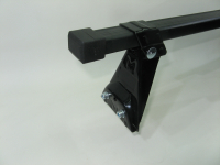 Универсальный багажник для иномарок Amos Astra прямоугольные поперечины 1.1м на крышу в штатные места (Амос астра)