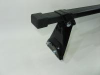 Универсальный багажник для иномарок Amos Astra прямоугольные поперечины 1.3м на крышу в штатные места (Амос астра)
