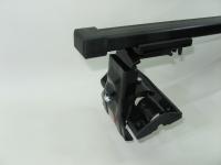 Универсальный багажник для иномарок Amos Dromader D-4 прямоугольные поперечины 1.2м на гладкую крышу за дверной проем (Амос Д4)
