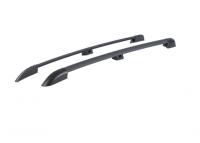 Рейлинги на крышу APS 0239-02 Lada Largus полимер черный с вкладкой (Лада Ларгус, АПС)