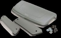 Накладки вентиляции салона серебро Aeroeffect APS 0701-23 Lada Niva 4х4 (Лада Нива, АПС)