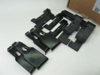 Комплект адаптеров багажника Атлант KIA Ceed хэтчбек 2006-2012, 2012- (КИА Сид, для гладкой крыши адаптеры, опора тип Е atlant 7015)